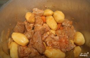 Рагу из картофеля и мяса - фото шаг 7