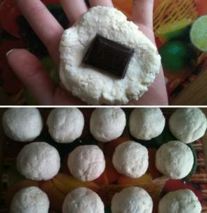 Сырники с шоколадом - фото шаг 3