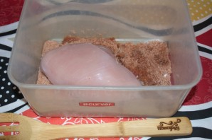 Балык из курицы - фото шаг 3