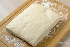 Сырный пирог с крабовыми палочками - фото шаг 1