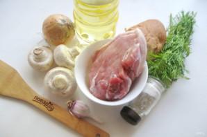 Котлеты из свинины с грибами - фото шаг 1