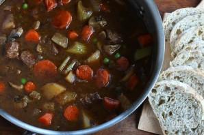 Сытное мясное рагу с овощами - фото шаг 12