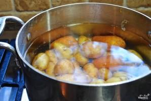 Картофель с петрушкой - фото шаг 1