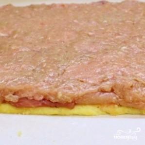 Куриный рулет с сыром - фото шаг 7