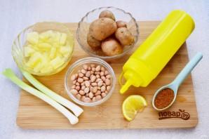 Салат картофельный с ананасом - фото шаг 1