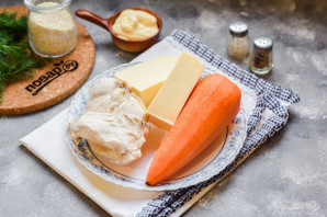 Куриный салат с морковью - фото шаг 1