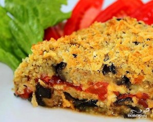 Запеканка из баклажанов с помидорами и сыром - фото шаг 10
