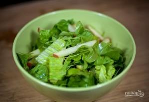 Салат с яблоками - фото шаг 6