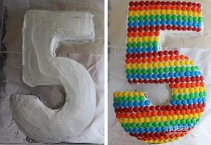 Торт для девочки на 5 лет - фото шаг 4