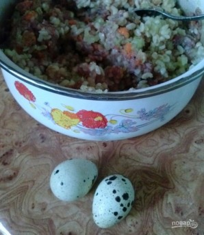Перец, фаршированный булгуром, мясом и овощами - фото шаг 6
