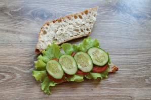 Греческий сэндвич - фото шаг 5