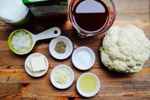 Суп из цветной капусты со сливками - фото шаг 1