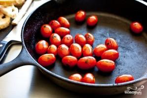 Канапе с помидорами - фото шаг 4