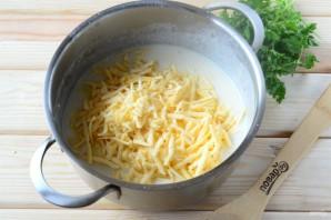 Макароны с сыром в рожке - фото шаг 9
