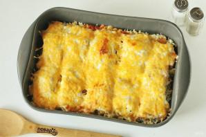 Горбуша с рисом в духовке - фото шаг 7