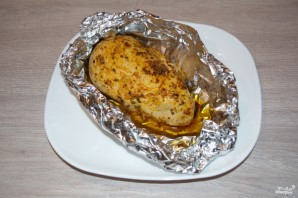 Куриная грудка под соусом - фото шаг 4