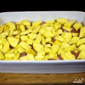 Куриное мясо с ананасами и бананами - фото шаг 3