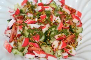 Крабовый салат с салатом айсберг - фото шаг 10