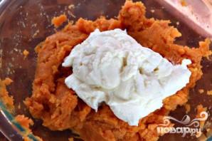 Ньокки из сладкого картофеля с сырным соусом - фото шаг 2