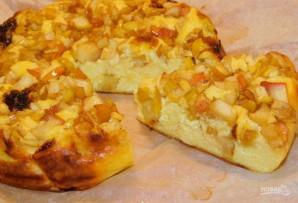 Творожное суфле с карамелизированными яблоками - фото шаг 6