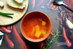 Томатный суп с булгуром - фото шаг 11
