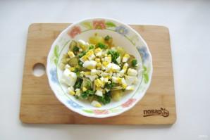 Картофельный салат с зеленым луком - фото шаг 5