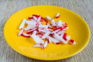 Салат из свеклы и редиса - фото шаг 2