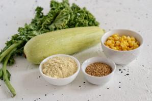 Оладьи из кабачков с кукурузой - фото шаг 1