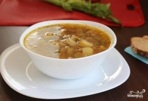 Постный овощной суп - фото шаг 3