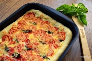 Пирог с помидорами и базиликом - фото шаг 11