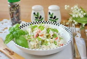 Салат с курицей и маринованными огурцами - фото шаг 8