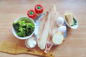 Судак с брокколи в духовке - фото шаг 1