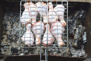 Шашлык из курицы на пиве - фото шаг 6