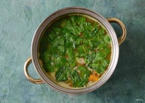 Суп с чечевицей и лисичками - фото шаг 7