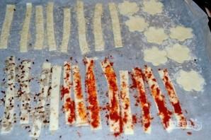 Слоеные палочки к пиву - фото шаг 4