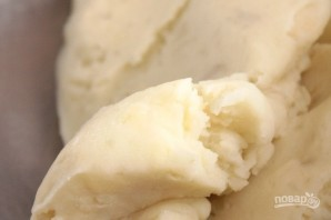 Картофельные уголки с сыром и зеленым луком - фото шаг 4