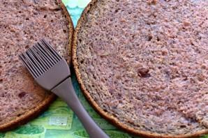 Торт клубнично-банановый с нежным муссом - фото шаг 9