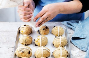 Сладкие пасхальные булочки - фото шаг 4