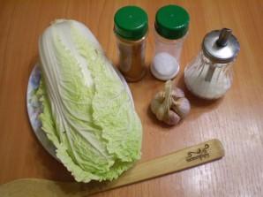 Засолка пекинской капусты по-корейски - фото шаг 1