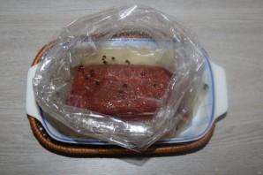 Говядина, маринованная в водке - фото шаг 4