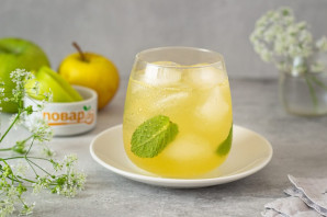 Яблочный лимонад - фото шаг 6
