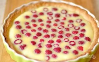 Цветаевский пирог с малиной - фото шаг 6
