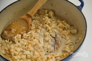 Фриттата с ветчиной, шпинатом и сыром - фото шаг 3