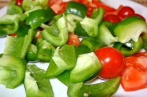 Курица на шпажках с овощами - фото шаг 6