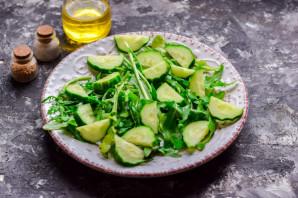 Салат с рукколой и фасолью - фото шаг 3