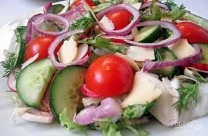 Новый вкусный салат - фото шаг 4