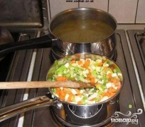 Зимний овощной суп - фото шаг 3