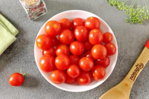 Ассорти из помидоров и кабачков на зиму - фото шаг 2