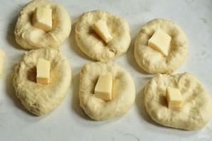 Пампушки с сыром - фото шаг 8