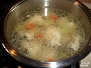 Фасолевый суп с курицей - фото шаг 5
